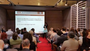 Conferenza di Pizzocaro Stefania Smau 2015