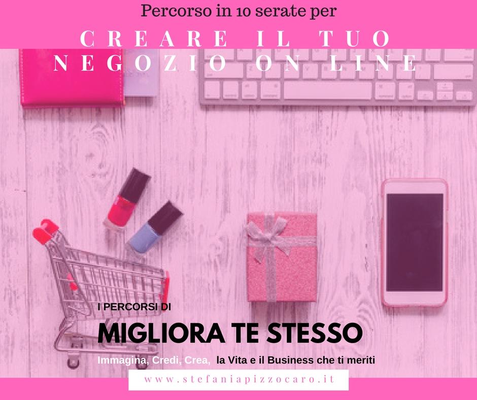 Corso per aprire, creare e promuovere il tuo negozio on line